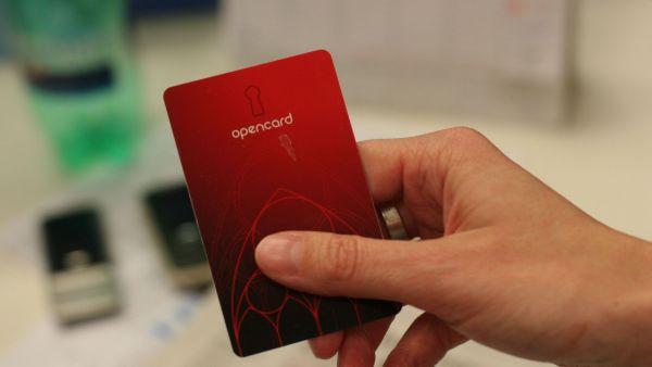 Opencard, ilustra�n� foto
