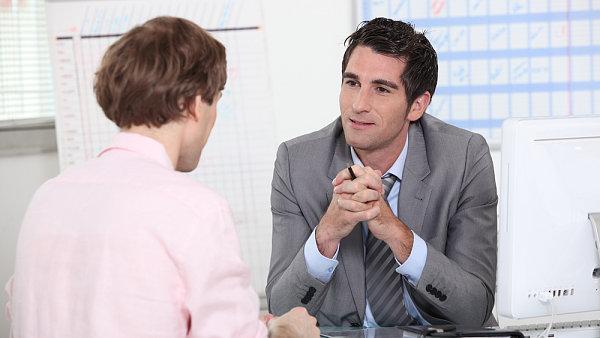 Pracovn� pohovor, ilustra�n� foto