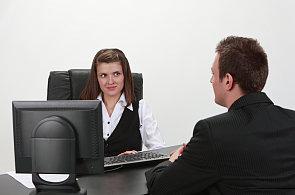 Pracovní pohovor - Ilustrační foto