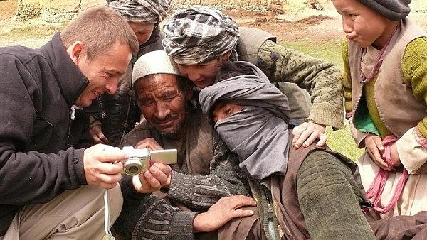 Šimon Pánek v Afghánistánu