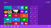 Hlavn� nab�dka Windows 8