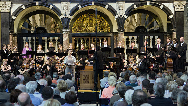 Collegium 1704 s Rafaellou Milanesi vystoupilo vloni v Bruggách.