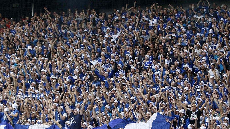 Fanoušci Schalke