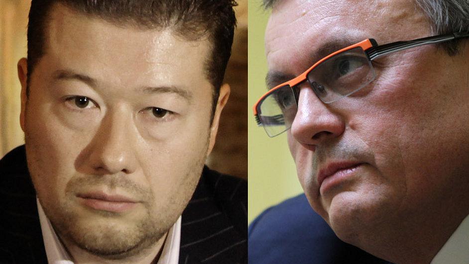 Jana Bobošíková, Tomio Okamura, Vladimír Dlouhý