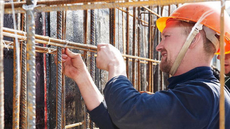 Stavební dělník, ilustrační foto