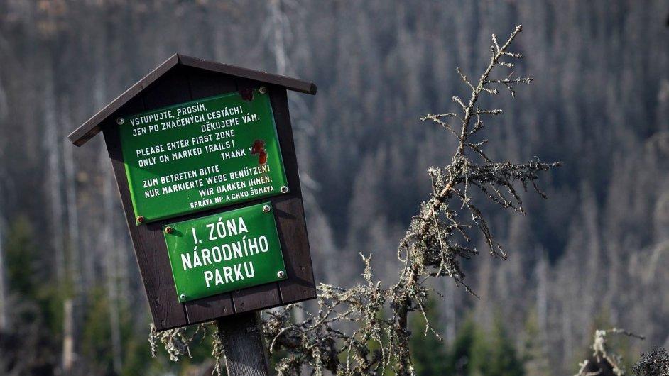Šumavský národní park