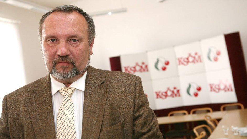 Komunistický poslanec Pavel Kováčik