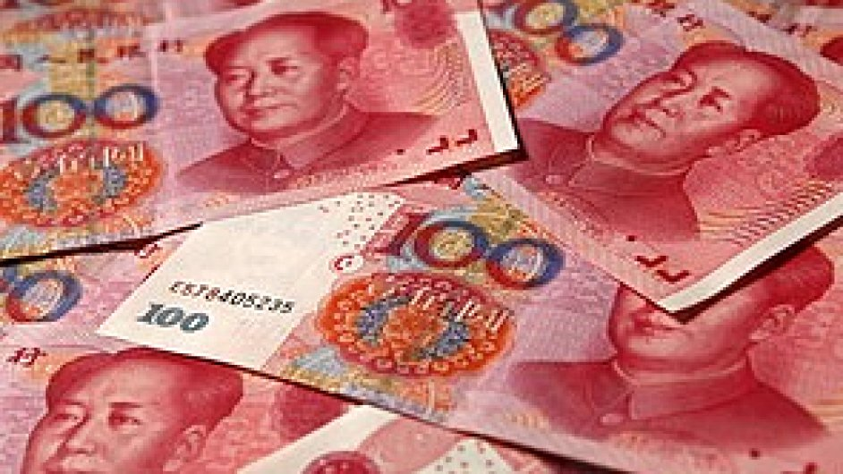 Čínský jüan - ilustrační foto