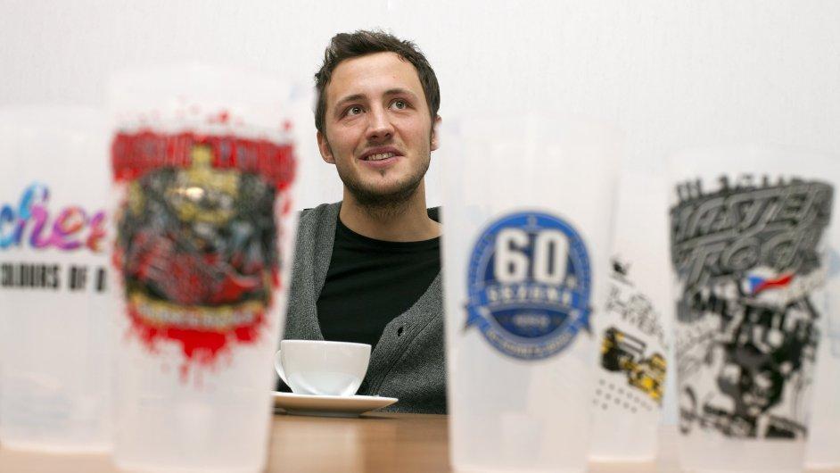 Spoluzakladatel firmy H2D, která vyrábí kelímky NickNack, Martin Hanák.