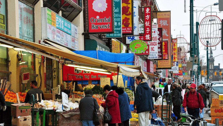 Torontský Chinatown