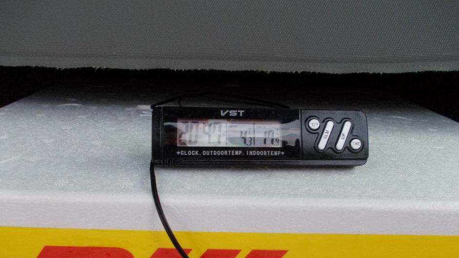 DHL Freight přepravovala zásilku laboratorních vzorků do belgické laboratoře ve speciálním teplotním režimu