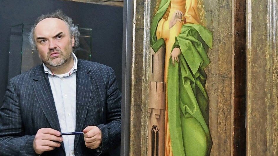 Jiří Fajt by měl Národní galerii převzít k 1. září.