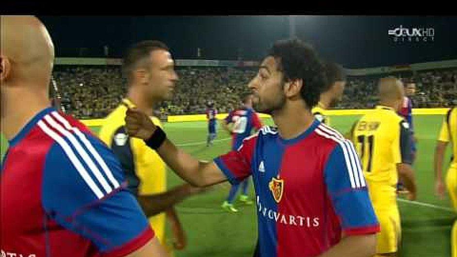Egypťan Mohamed Salah odmítá podat ruku izraelským soupeřům