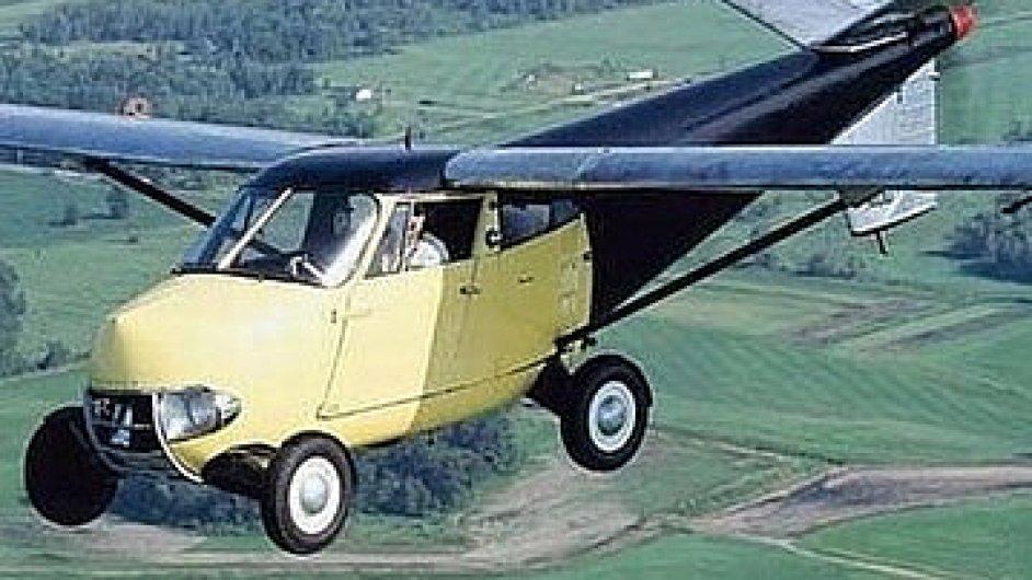 Létající auto Aerocar z roku 1954