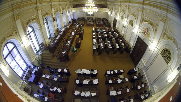 Poslanecká sněmovna- ilustrační foto