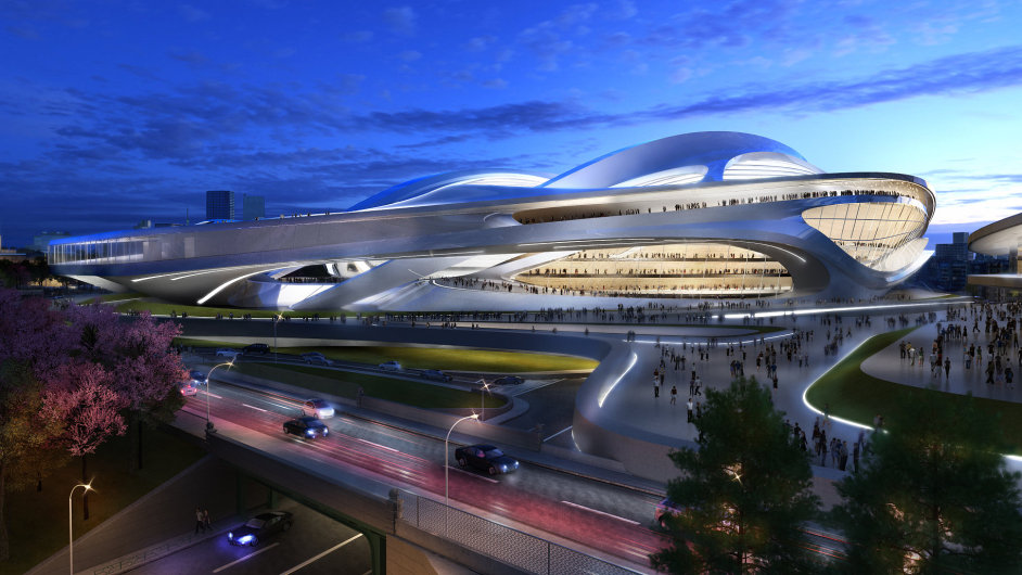 Nový národní stadion v Tokiu z dílny Zahy Hadid bude srdcem olympiády v roce 2020.
