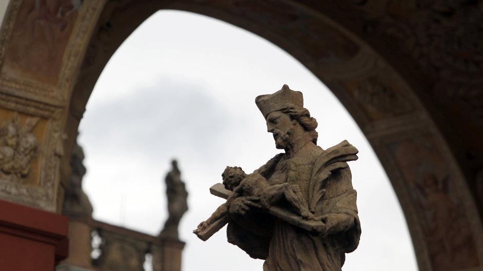 církev, Svatá hora, Příbram, mariánská bazilika