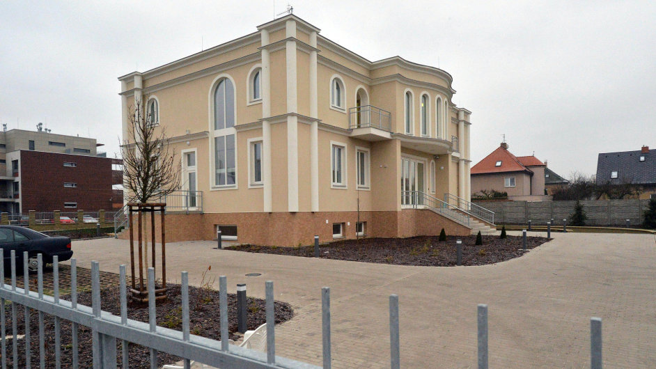 Nová rezidence palestinské ambasády v pražském Suchdole
