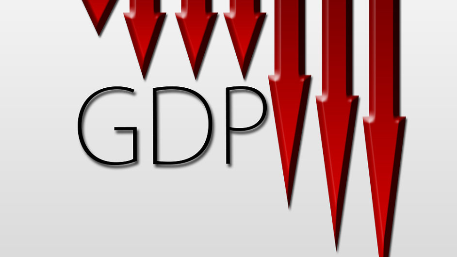 Americké HDP v prvním čtvrtletí meziročně kleslo o 2,9 procenta.