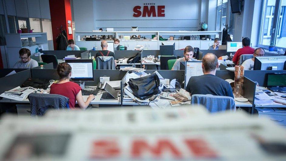 Redakce deníku SME