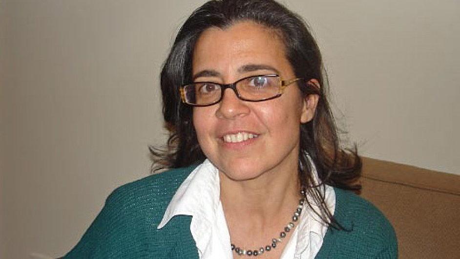 Francouzská novinářka Francoise Ponsová