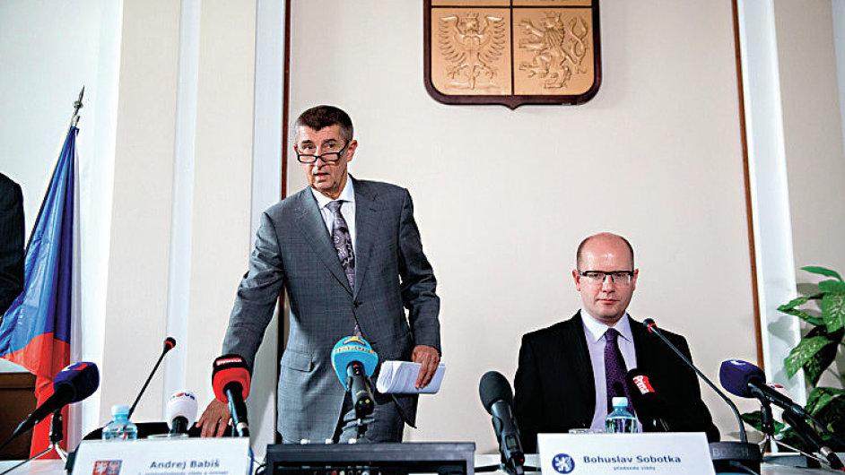 TK Bohuslav Sobotka Andrej Babiš
