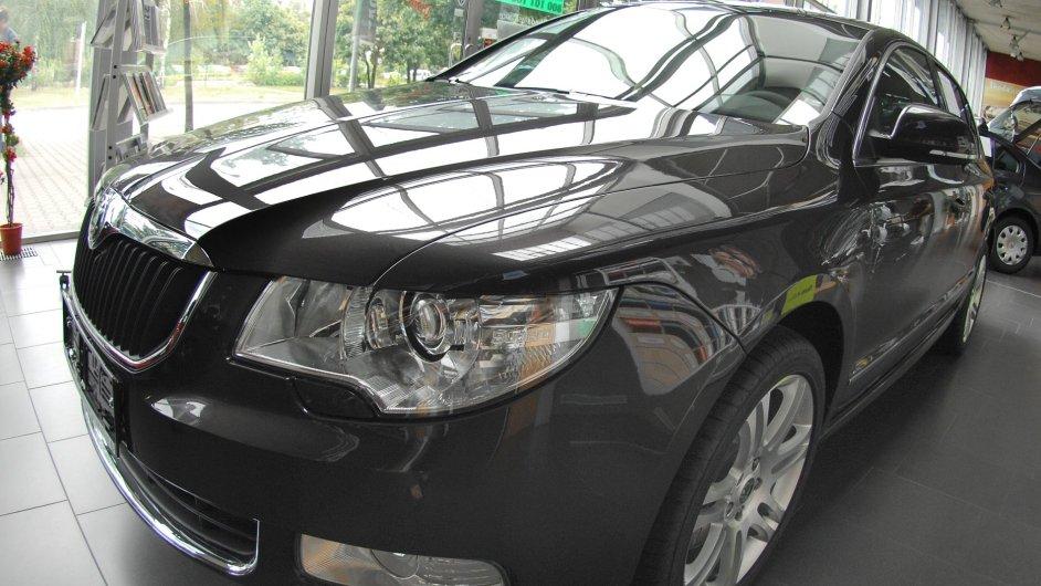 Škoda Superb, ilustrační foto