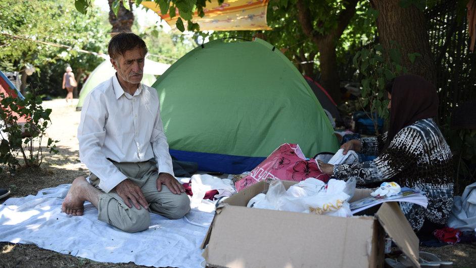 Řecko, Atény, uprchlíci, migrace