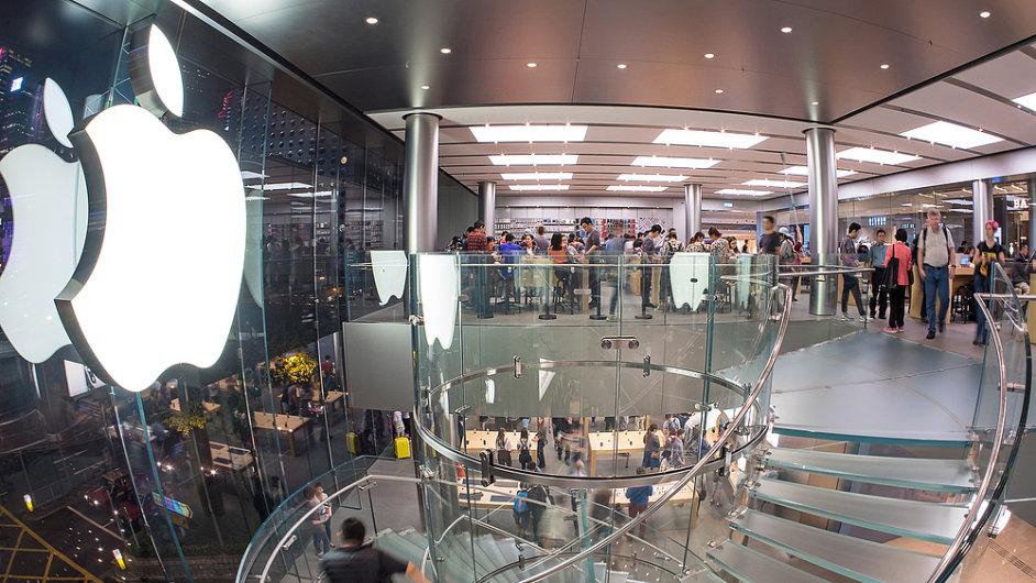 Apple Store v Hongkongu
