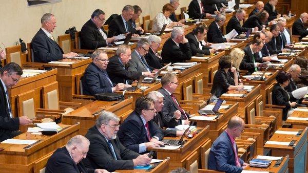 Jednání Senátu - Ilustrační foto.
