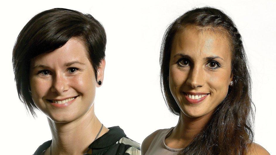 Hana Sládková vede plzeňskou a Aneta Klementová královéhradeckou pobočku agentury Grafton Recruitment
