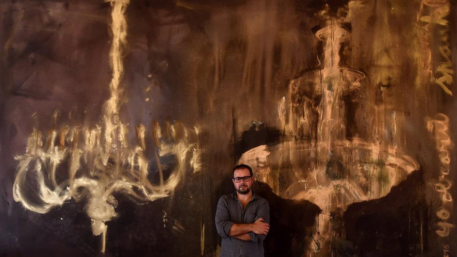 Snímek z výstavy Jakuba Špaňhela