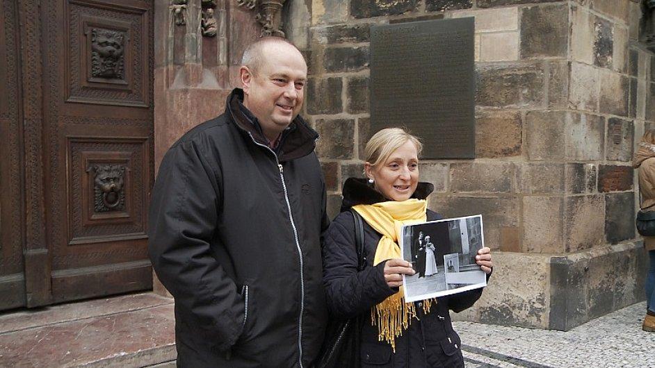 Strnadovi (na snímku) jsou teprve druhým nerozvedeným párem z těch, které režisérka Třeštíková sledovala.