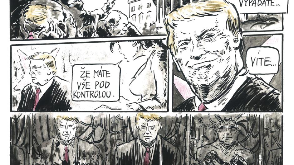 Prvních jedenáct tweetů Donalda Trumpa ve funkci prezidenta USA