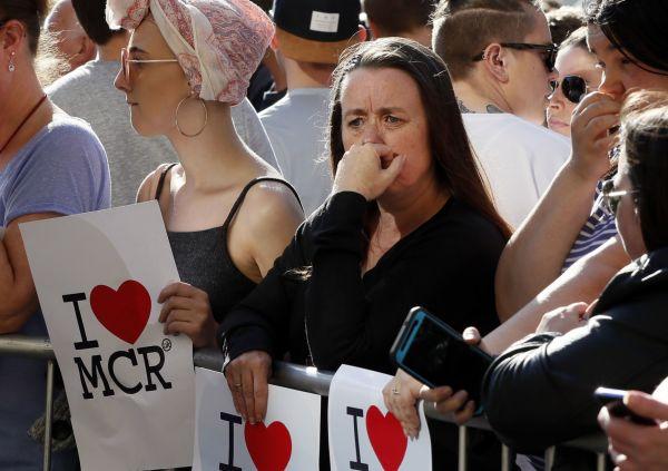 Vigílie po útoku v Manchesteru