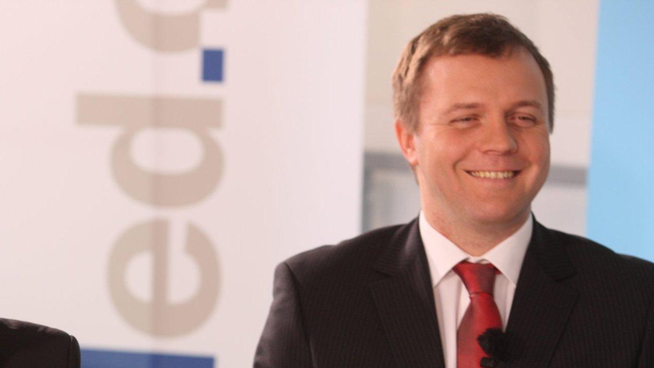 Jan Juchelka bude šéfem Komerční banky (archivní foto z roku 2010)