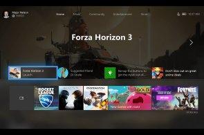 Hezčí, rychlejší a se Spotify: Xbox One jako první ukazuje nový designový jazyk Microsofu