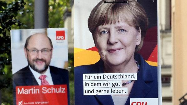 Ideologicky si jsou Merkelová a Schulz blízko, ostatně poslední čtyři roky spolu vládnou v takzvané velké koalici.