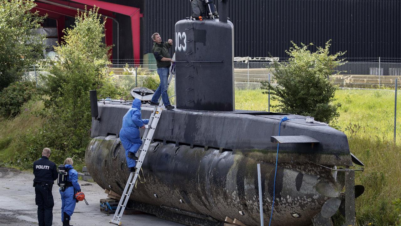 Ponorka Nautilus.