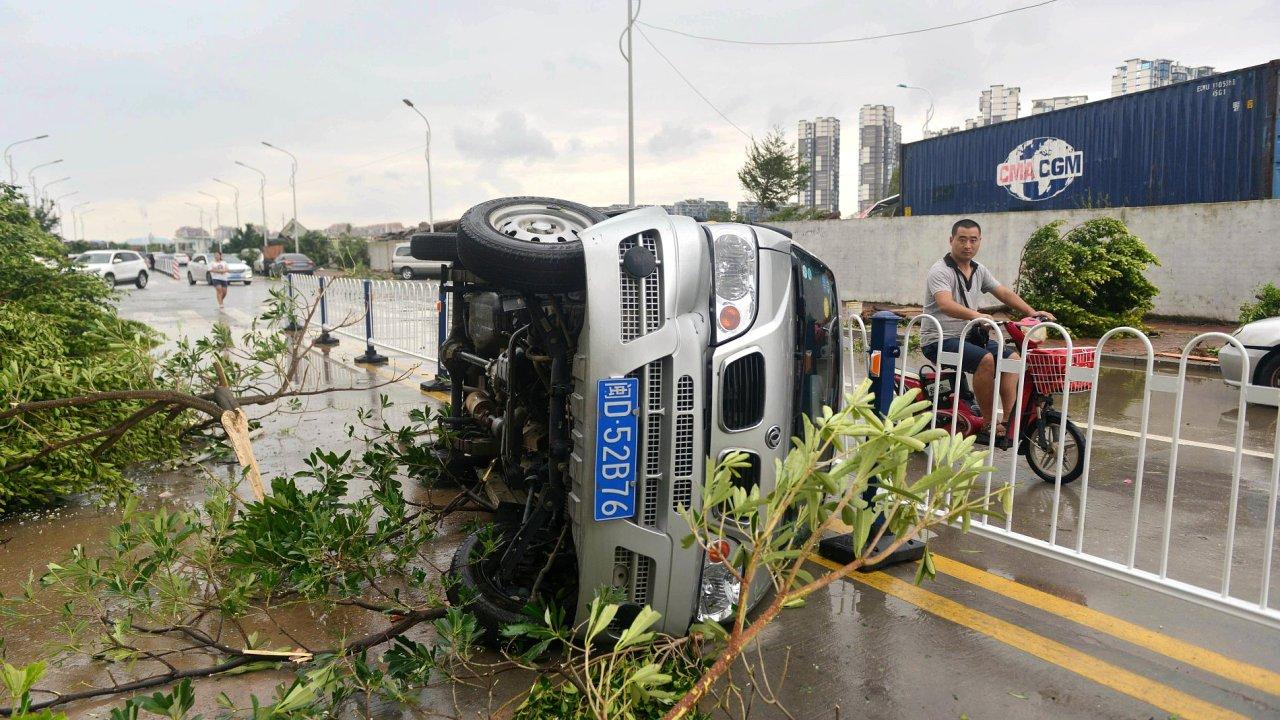 tchaj-wan tajfun