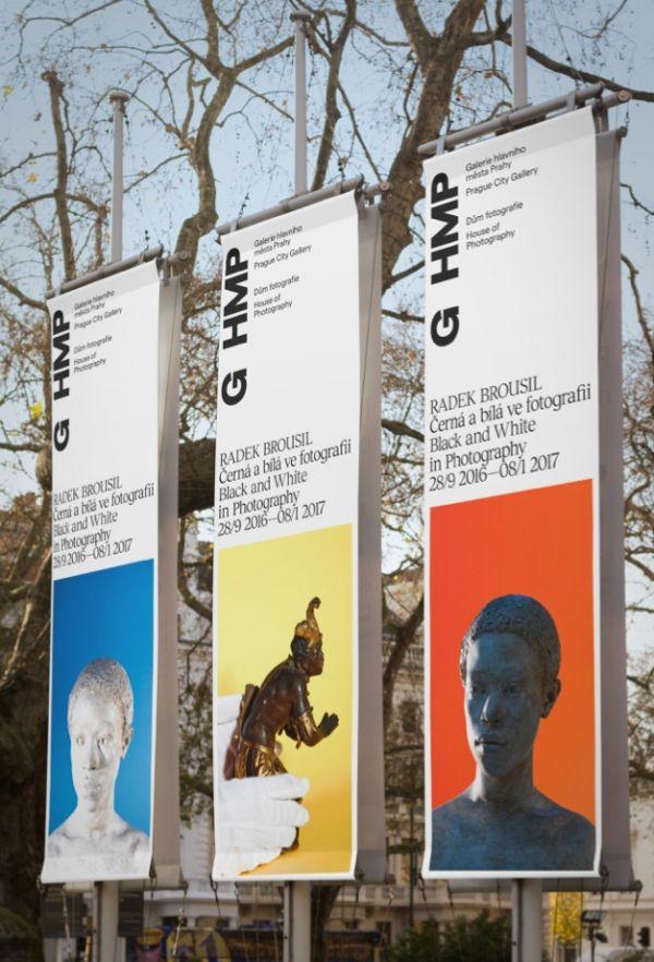 Návrhy vizuální identity Galerie hlavního města Prahy