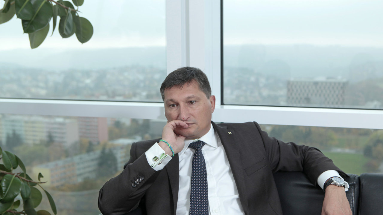 Igor Vida, šéf Raiffeisenbank.