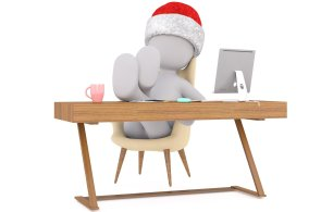 Nákupy a přípravy na svátky odkrojí zaměstnancům až 100 minut denně z pracovní doby, ilustrace