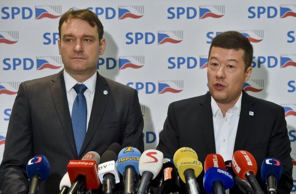 Tomio Okamura za SPD