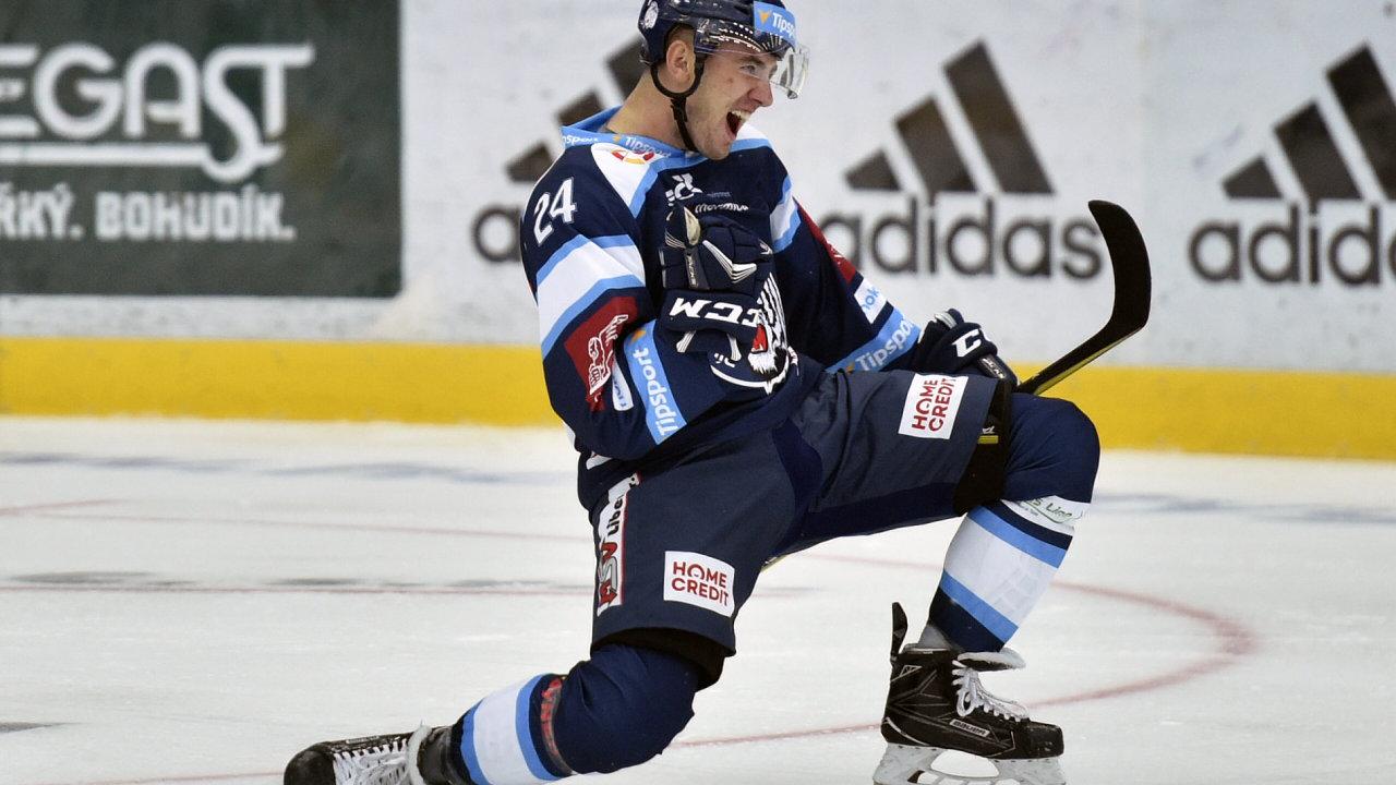 Liberec - Hradec Králové - první kolo hokejové extraligy.