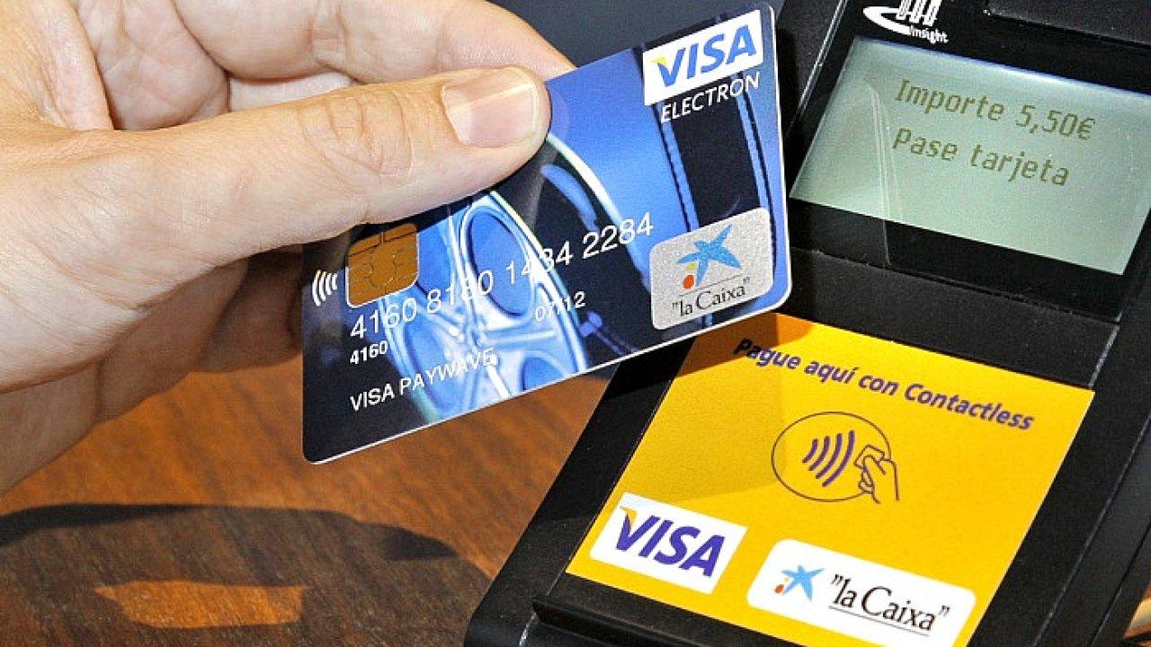 Platební karty Visa (ilustrační foto)