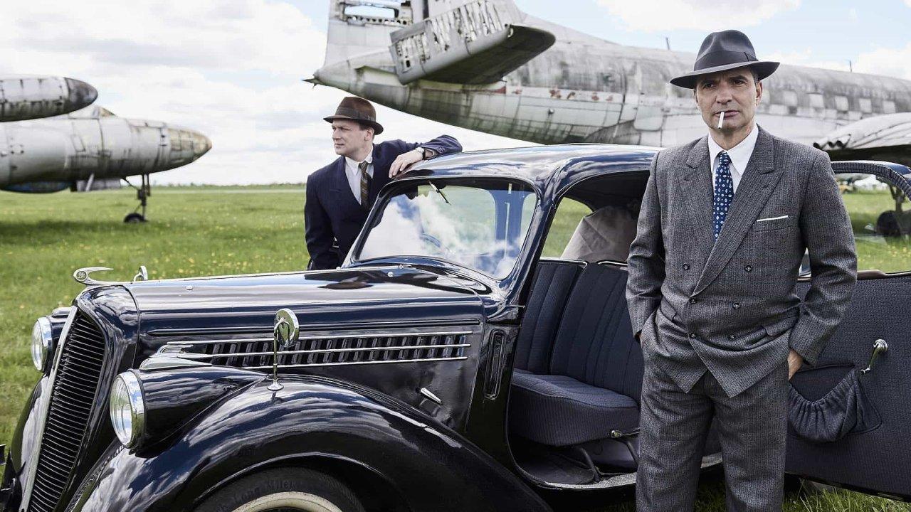 Snímek z filmu Toman