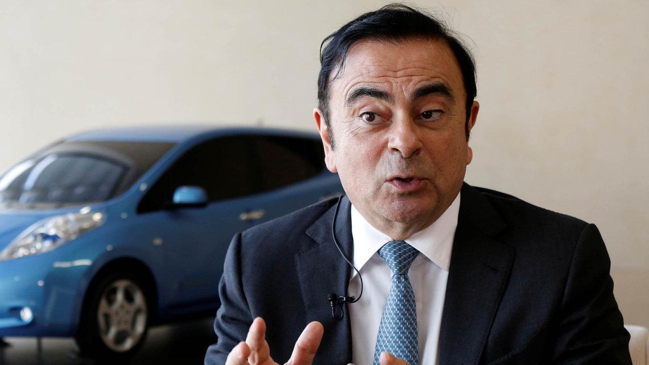 Někdejší předseda správní rady automobilky Nissan Carlos Ghosn.