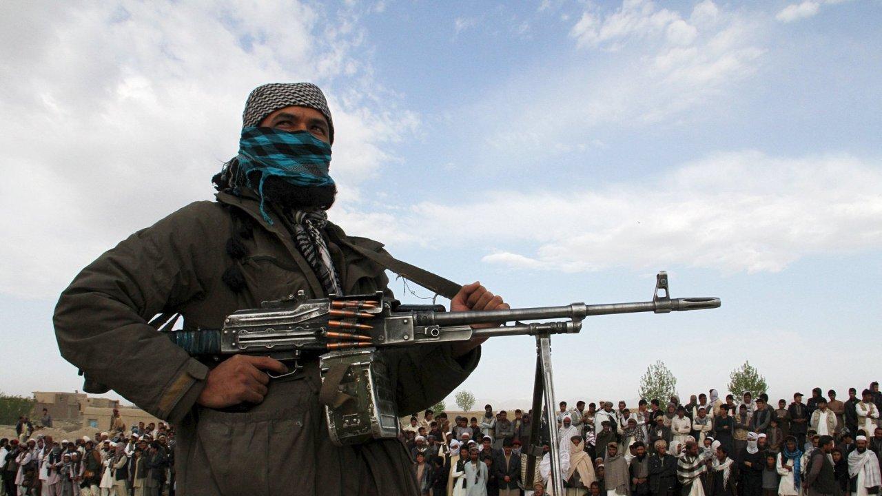 Jednotky Tálibánu hrozí, že zaberou celý Afghánistán - Ilustrační foto.