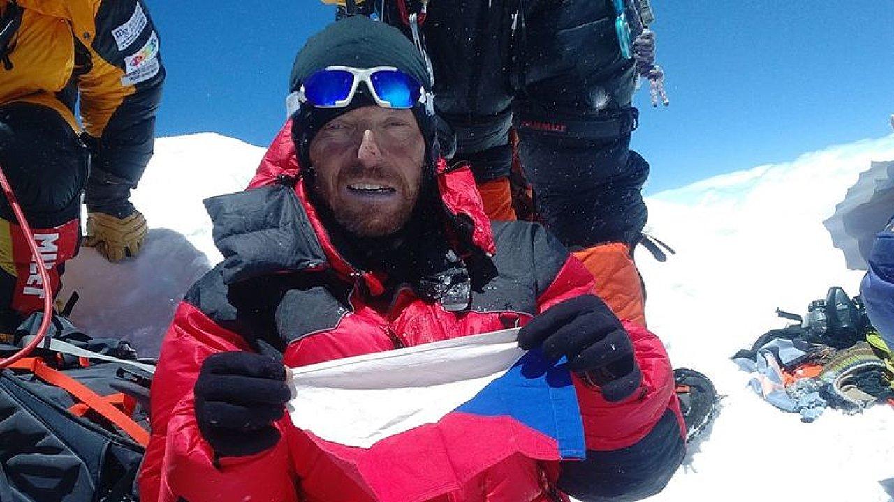 Čech, který málem zahynul na Mt. Everestu: Každý mě překročil, dolů vás nikdo nesnese